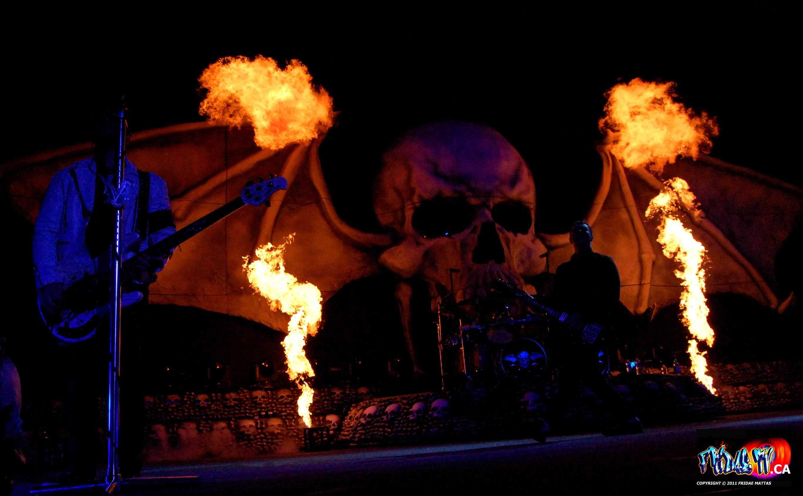 AVENGED SEVENFOLD - ROCKSTAR UPROAR FEST TORONTO 2011 - Photo By ...