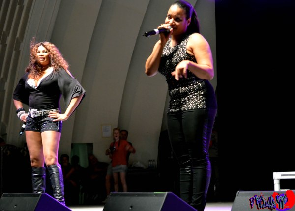 SALT N PEPA LIVE @ CNE BANDSHELL BEER FEST TORONTO 2012