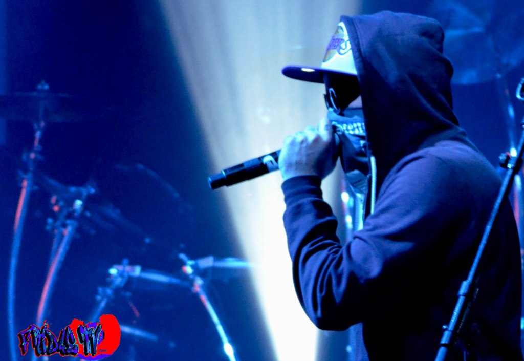 CHARLIE SCENE - MC/VOX/GUITAR - HOLLYWOOD UNDEAD LIVE @ THE VIRGIN MOBILE MOD CLUB 2013 - All Photography By: Fridae Mattas