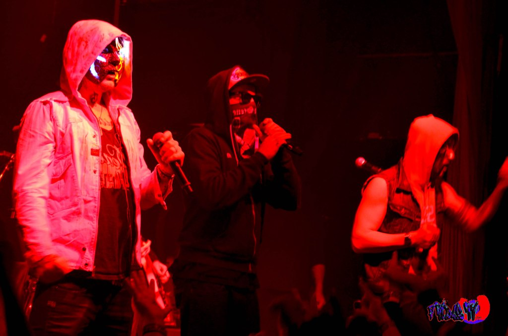 HOLLYWOOD UNDEAD LIVE @ THE VIRGIN MOBILE MOD CLUB 2013 - Photography By: Fridae Mattas
