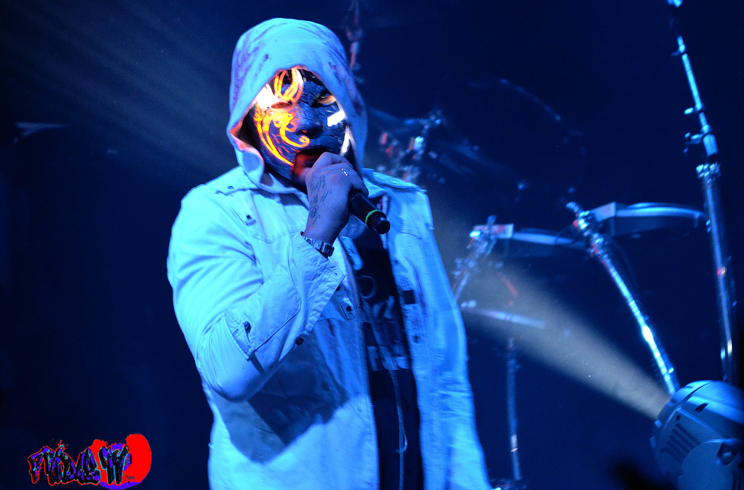 J3T – MC – HOLLYWOOD UNDEAD LIVE @ THE VIRGIN MOBILE MOD CLUB 20 ...