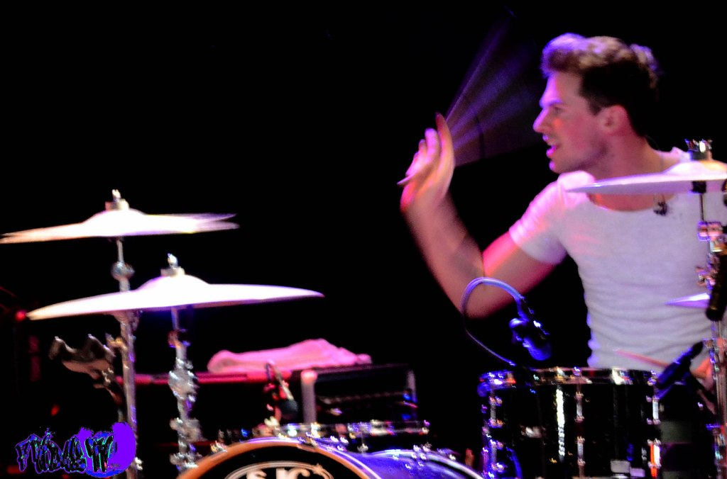 ADAM PITTS - DRUMS - LAWSON LIVE @ THE VIRGIN MOBILE MOD CLUB 2013 - Photography By: Fridae Mattas
