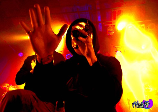 DANIEL MURILLO - VOX - HOLLYWOOD UNDEAD LIVE @ THE PHOENIX CMF 2