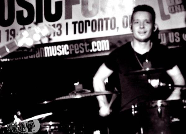 KELLY - DRUMS - SIX SIDE DIE LIVE @ CHERRY COLAS CMF 2013
