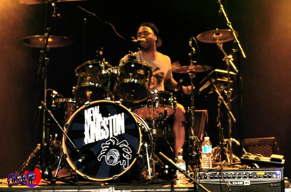 COURTNEY PANTON JR - DRUMS/VOX - NEW KINGSTON LIVE @ THE DANFORT