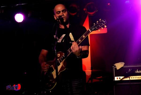 MATT MOFFIT - VOX - THE JOY ARSON LIVE @ THE TATTOO ROCK PARLOUR
