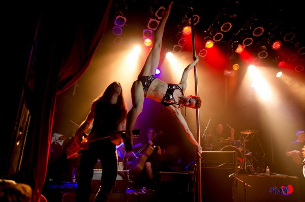 PATRIZIA DANCER & BAND LIVE @ THE VIRGIN MOBILE MOD CLUB