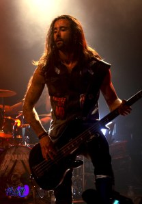 JOHAN ANDREASSEN - BASS - AMARANTHE LIVE @ THE VIRGIN MOBILE MOD CLUB 2013