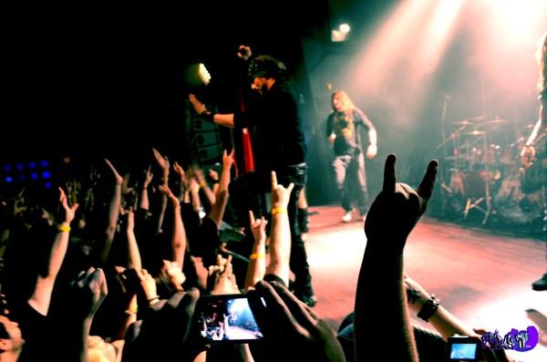 AMARANTHE LIVE @ THE VIRGIN MOBILE MOD CLUB 2013