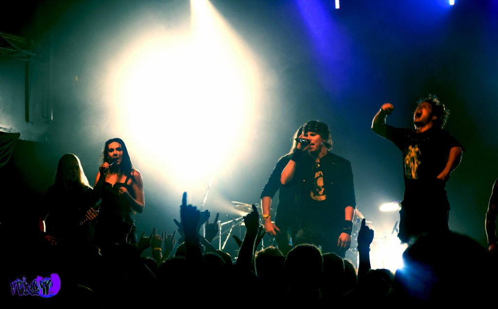 AMARANTHE LIVE @ THE VIRGIN MOBILE MOD CLUB 2013