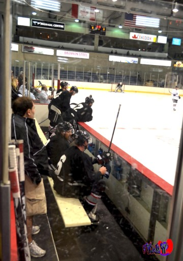 BRAMPTON BEAST: BLACK TEAM BENCH