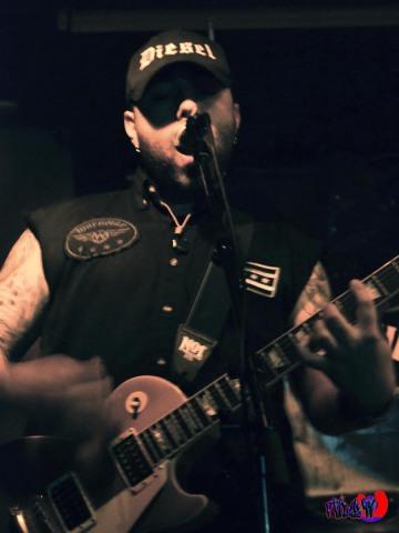 BREACHED - MIKE DIESEL - GUITAR/VOX LIVE @ RIVOLI - INDIE WEEK 2