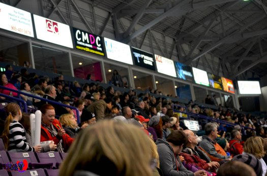 BRAMPTON BEAST FANS - POWERADE CENTRE MARCH 30TH 2014
