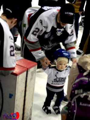 BRAMPTON BEAST  CUTEST FAN SKATE MEET N GREET- POWERADE CENTRE M