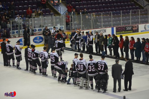 BRAMPTON BEAST 1ST JERSEYS OFF OUR BACKS - POWERADE CENTRE MARCH