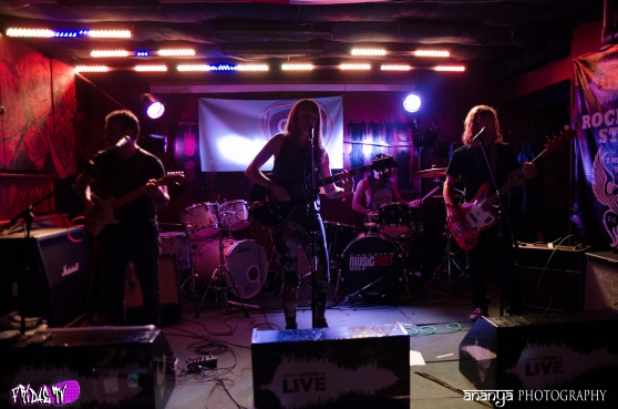 THE BLACK LULLABY LIVE @ THE HIDEOUT CMW 2014