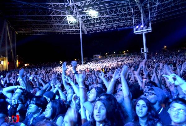 AVENGED SEVENFOLD -  CROWD - ROCKSTAR ENERGY MAYHEM FESTIVAL 201