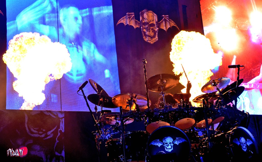 AVENGED SEVENFOLD DRUMS  LIVE @ ROCKSTAR ENERGY MAYHEM FESTIVAL