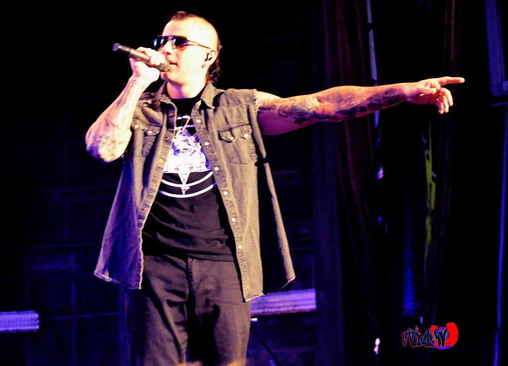 AVENGED SEVENFOLD - M. SHADOWS - VOX - ROCKSTAR ENERGY MAYHEM FE