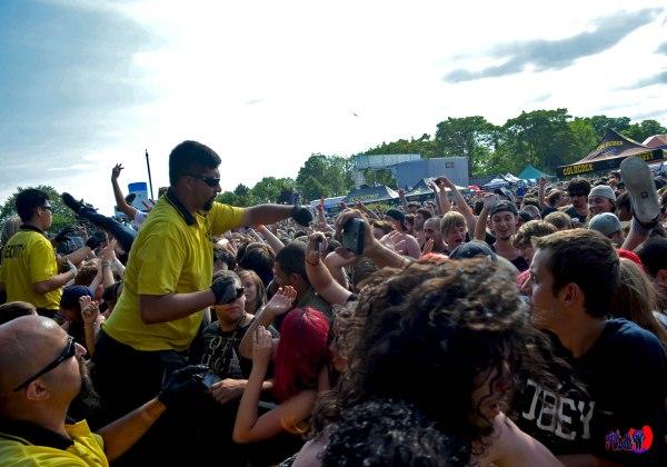 CROWD - ROCKSTAR ENERGY MAYHEM FESTIVAL TORONTO 2014