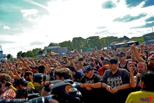 BODY COUNT CROWD - ROCKSTAR ENERGY MAYHEM FESTIVAL 2014