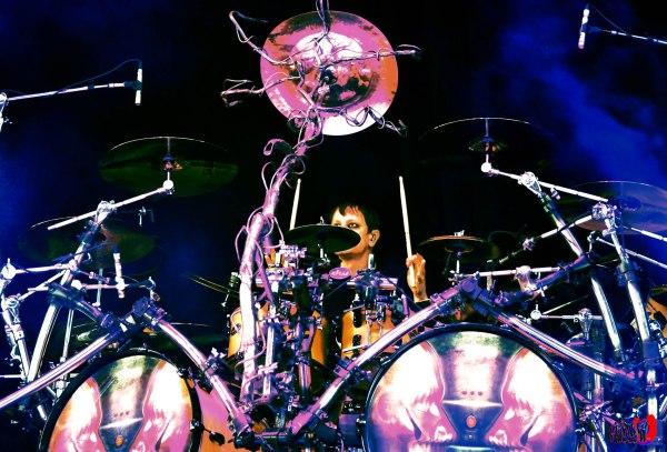 KORN - DRUMS - RAY LUZIER LIVE @ ROCKSTAR MAYHEM FESTIVAL 2014 TORONTO