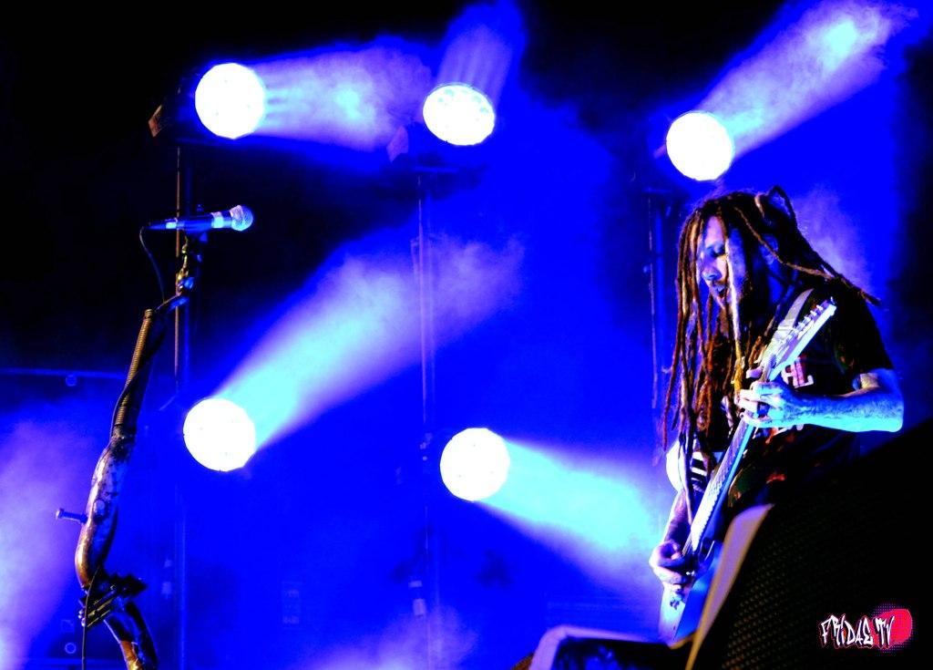 KORN GUITARIST BRIAN WELCH LIVE @ MAYHEM FESTIVAL TORONTO 2014