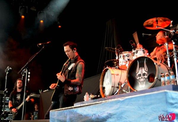 TRIVIUM LIVE @ ROCKSTAR ENERGY MAYHEM FESTIVAL FRIDAY JULY 25TH