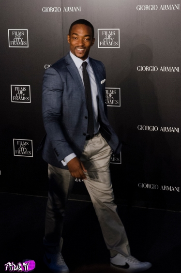 ANTHONY MACKIE - ARMANI CITY OF FRAMES TIFF PARTY 2014