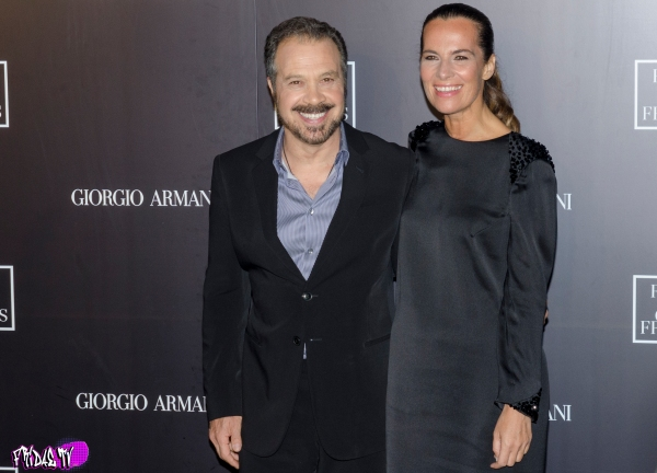 ROBERTA ARMANI & EDWARD ZWICK -  FILMS OF CITY FRAMES TIFF PARTY 2014
