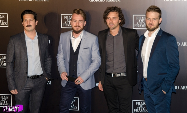 THE CANADIAN TENORS -  FILMS OF CITY FRAMES TIFF PARTY 2014