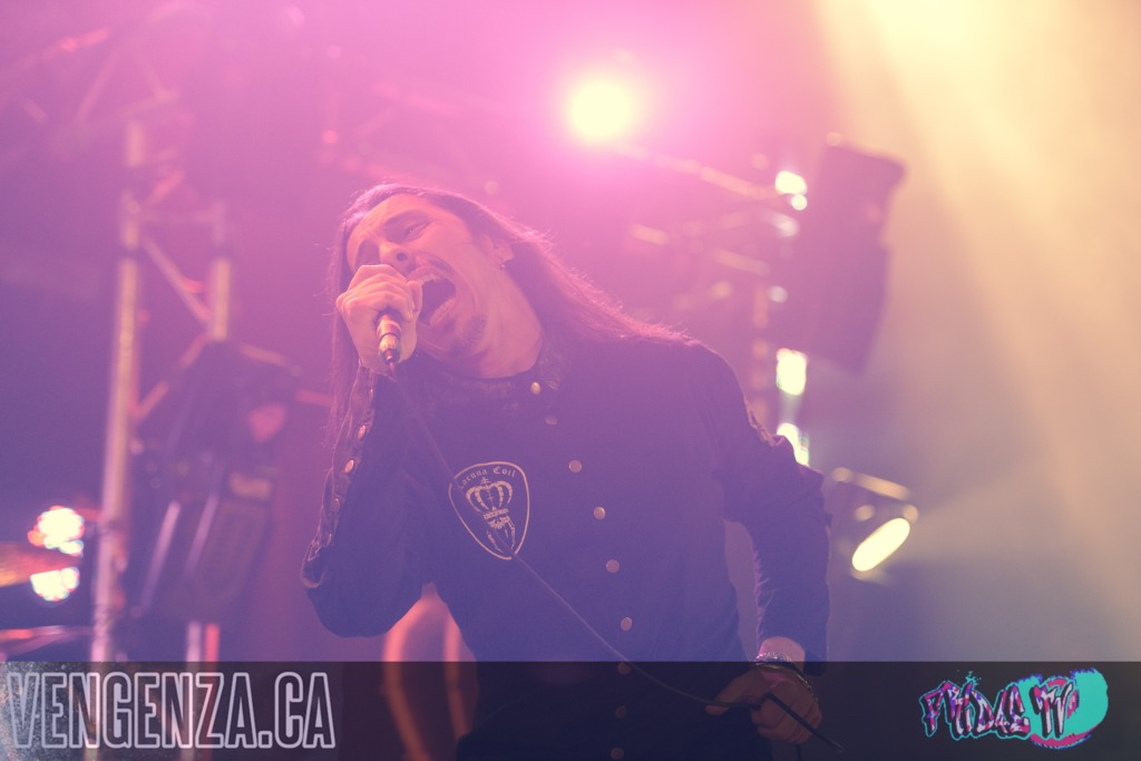 LACUNA COIL LIVE @ THE OPERA HOUSE 2014 - PHOTO BY JOANNA GLEZAKOS FOR FRIDAETV