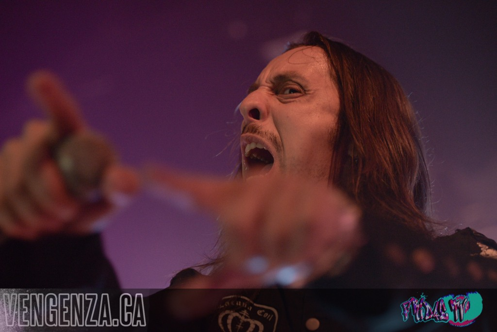 LACUNA COIL LIVE @ THE OPERA HOUSE 2014 - PHOTO BY: JOANNA GLEZAKOS FOR FRIDAE TV