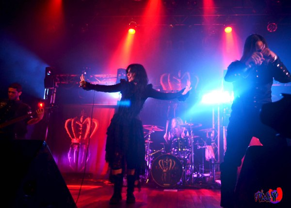 LACUNA COIL LIVE @ THE OPERA HOUSE MONDAY SEPT 28TH 2014