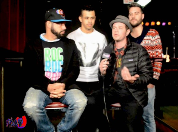 O-TOWN @ LEE'S PALACE - FRIDAE TV INTERVIEW MONDAY DEC. 8TH 2014 photo by: Fridae Mattas