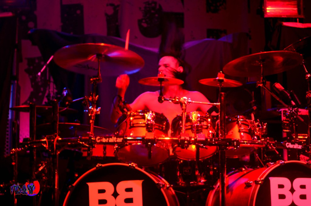 BUTCHER BABIES - CHRIS WARNER; DRUMS LIVE @ THE KOOL HAUS THURSD