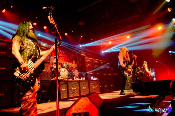 BLACK LABEL SOCIETY LIVE @ THE KOOL HAUS THURSDAY JAN. 8TH 2015