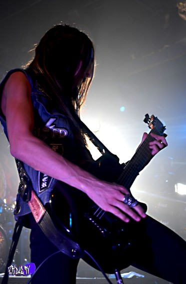 BLACK LABEL SOCIETY - DARIO LORINA: AXE LIVE @ THE KOOL HAUS THU