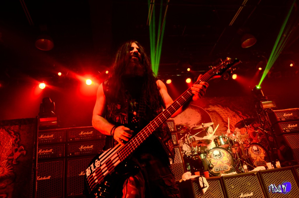 BLACK LABEL SOCIETY - JOHN DESERVIO: BASS LIVE @ THE KOOL HAUS T