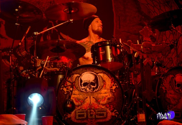 BLACK LABEL SOCIETY - JEFF FABB: DRUMS LIVE @ THE KOOL HAUS THUR