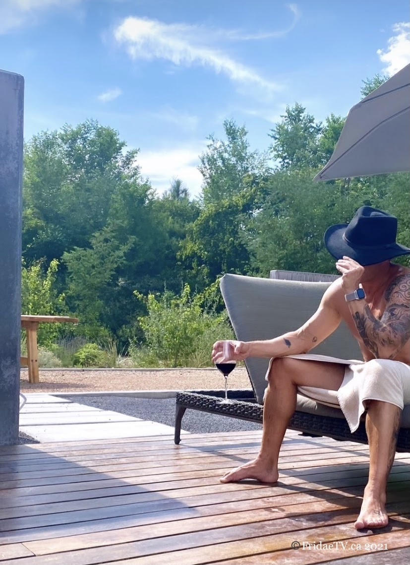 Pictured: Ryan Phillippe in the backyard of his rental home in Albuquerque, New Mexico. Friday, July 16th.  Photo Credit: Fridae Mattas